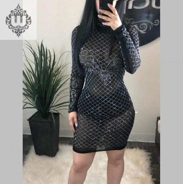 ALONDRA CITRUS DRESS